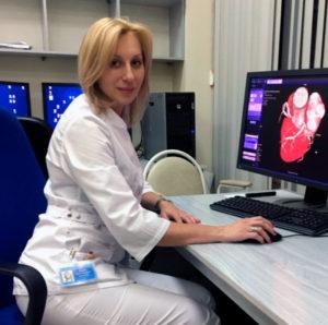 Марина Карасева, врач-ангиодиагност