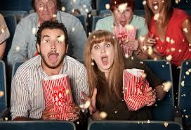 беременная в кинотеатре
